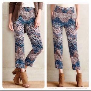 Anthropologie's elevenses Lanikai printed pants